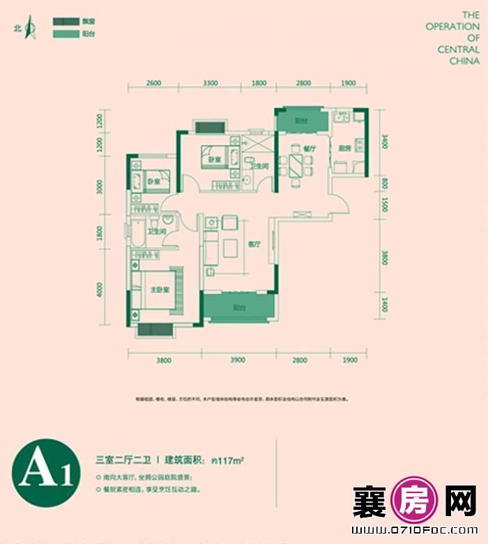 东津世纪城户型图