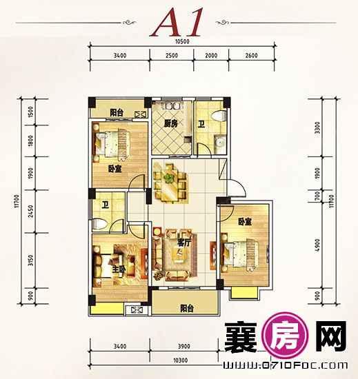 杰强·江南明珠户型图 (4)