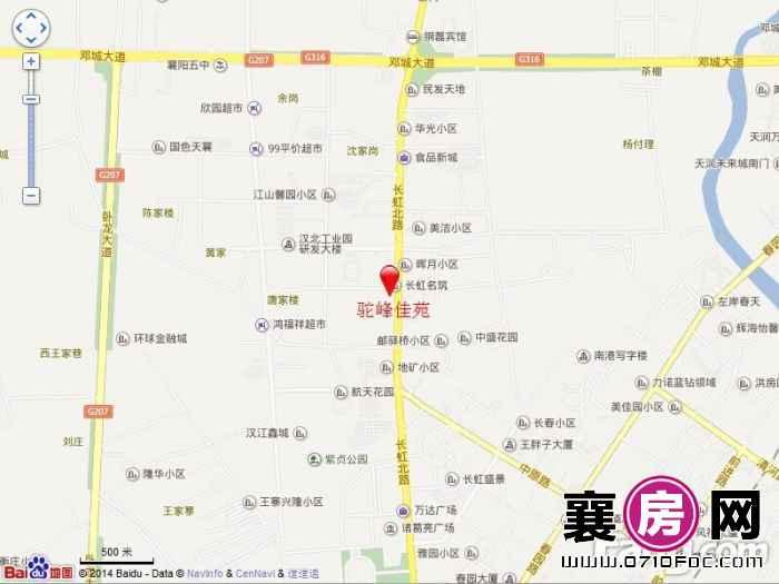 驼峰·佳苑电子地图