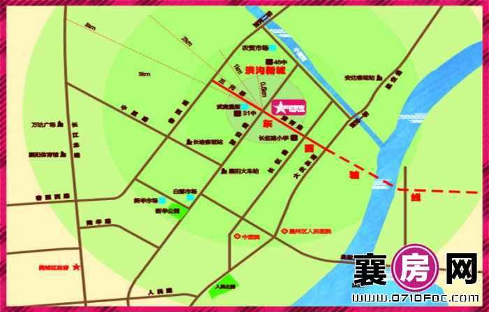 泰禾新景交通图