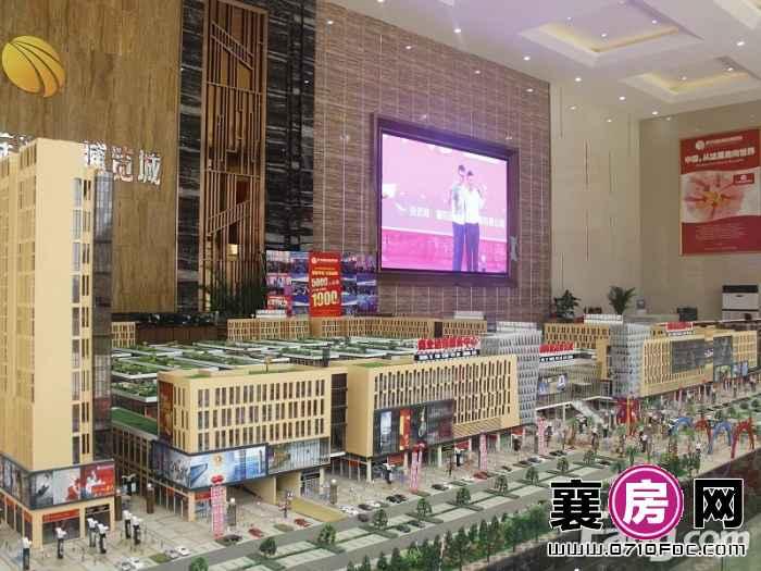 侨丰国际商品博览城沙盘实景