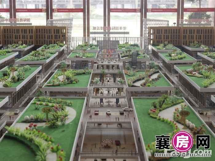 侨丰国际商品博览城实景图