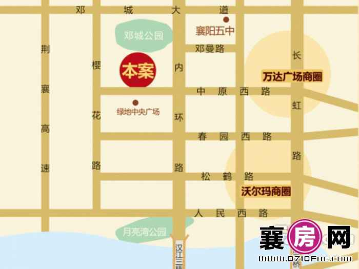 汉江梦1958区位图