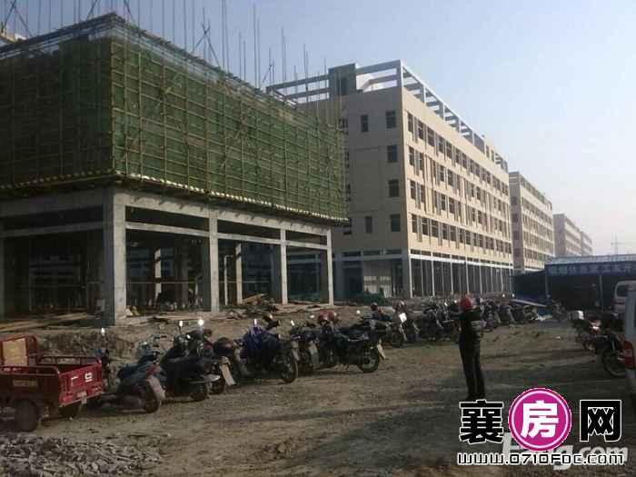 新合作襄阳食品商贸物流城二期商铺建设