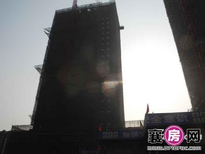 九悦天城2号楼实景