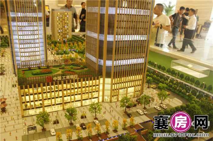 环球金融城项目沙盘图