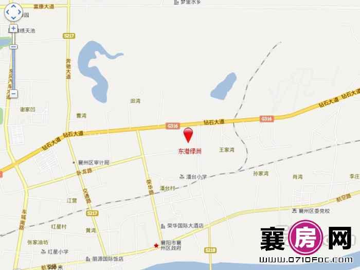 东港绿洲交通图