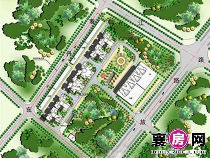 城馨嘉园规划效果图