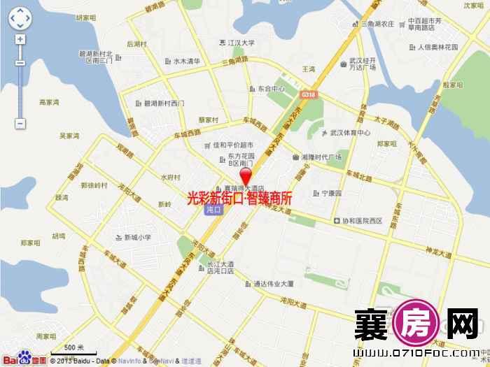 光彩新街口·智臻商所交通图