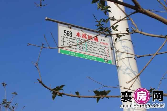 本昌襄阳建材城公交站点