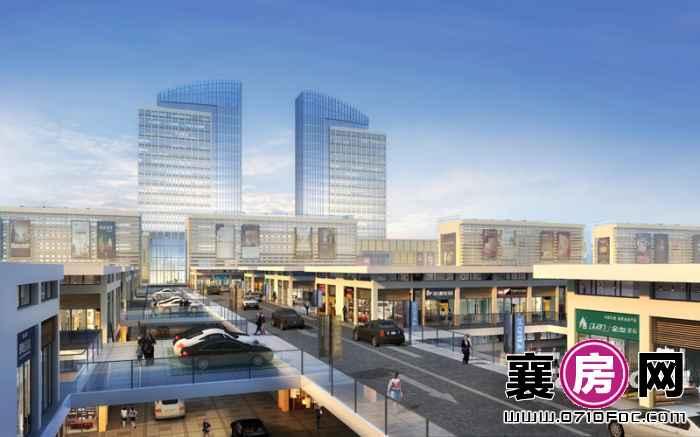 新世纪家居生活广场二层车道效果图