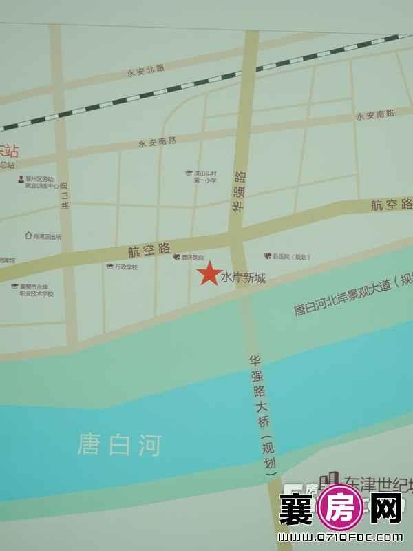 玉龙湾水岸新城交通图