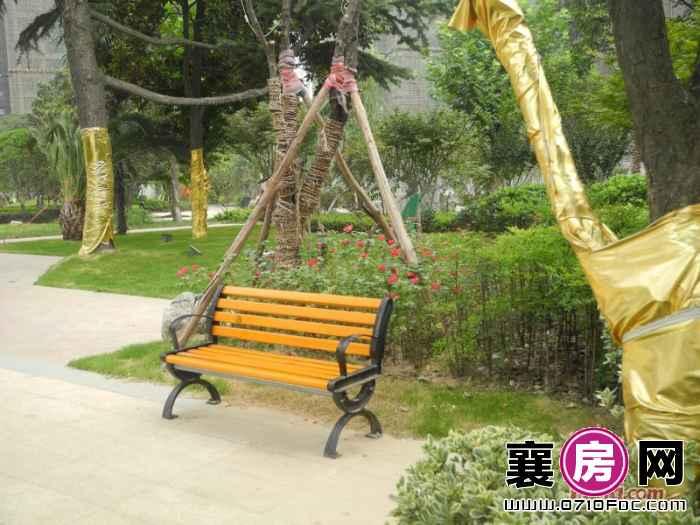 梧桐湾小区绿化园林实景