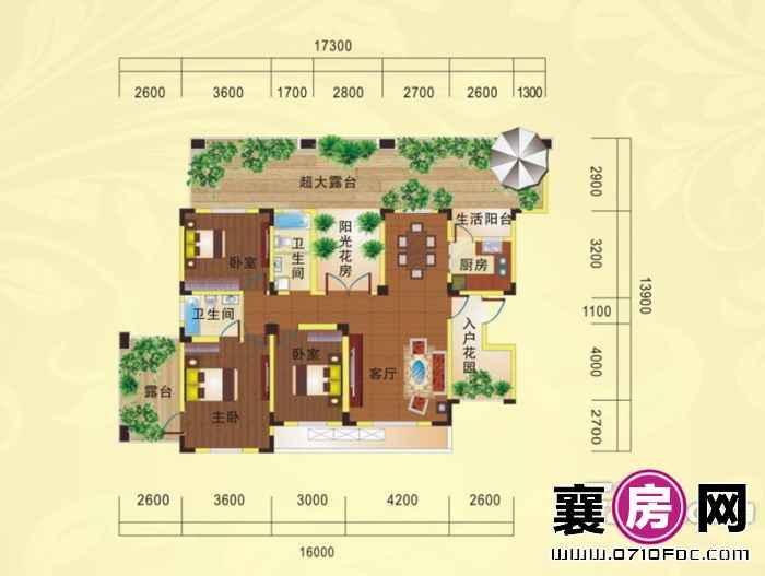 九洲岛水岸国际城户型图