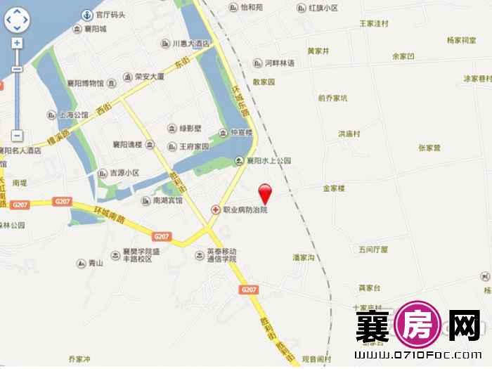 四季万锦交通图图