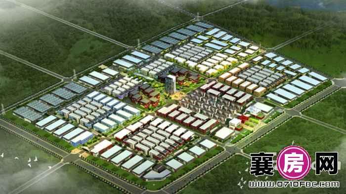 襄阳·佳海工业城整体规划图效果