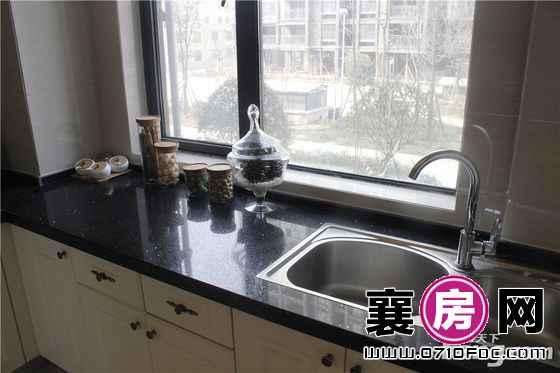 长虹观邸125.9平样板间厨房