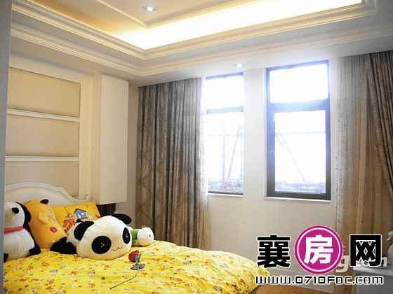 紫園3#C1户型样板间卧室