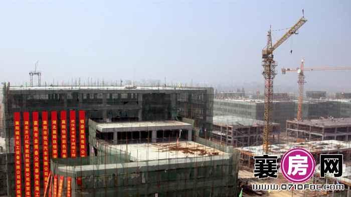 襄阳·佳海工业城施工图