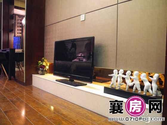 天元四季城一期1-2#1-3#B户型样板间客厅