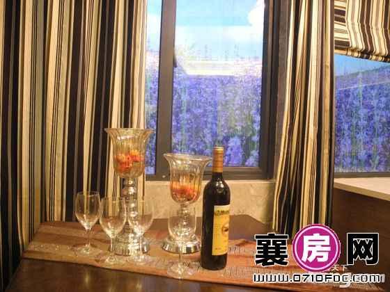 天元四季城一期1-2#1-3#B户型样板间餐厅