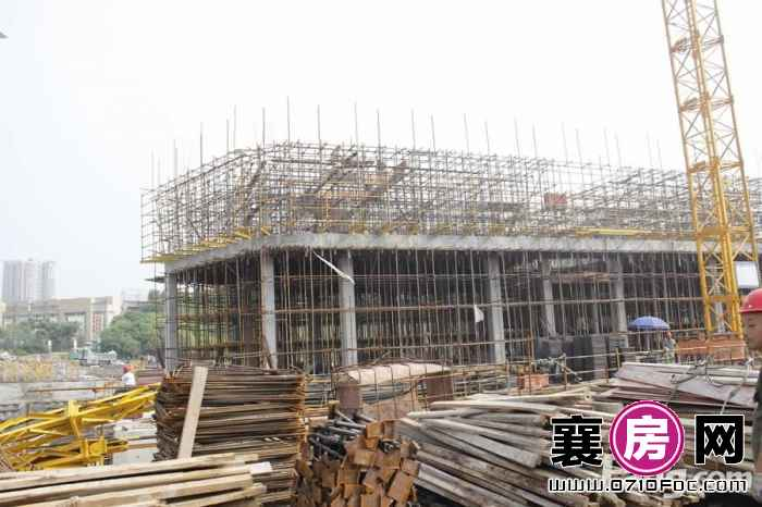 时代天街工程进度(2015-6-17)