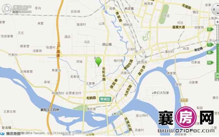 中润云邦交通图