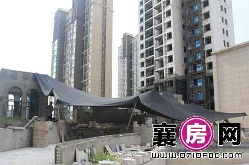 襄投·月亮湾最新工程进度(2015.7.31)
