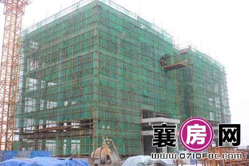 襄阳檀溪公馆3#楼建设实景