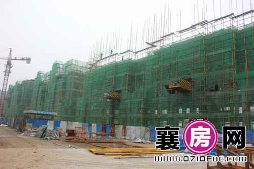 襄阳檀溪公馆部分建设实景
