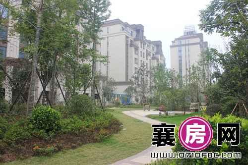 襄阳檀溪公馆内部部分景观建设实景