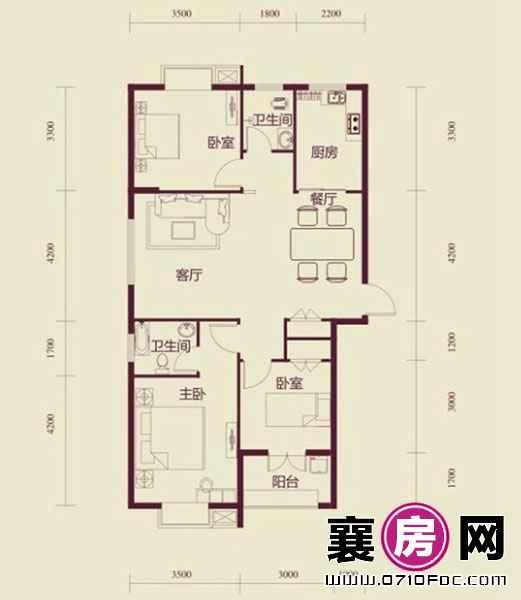 玉龙湾水岸新城户型图 (17)