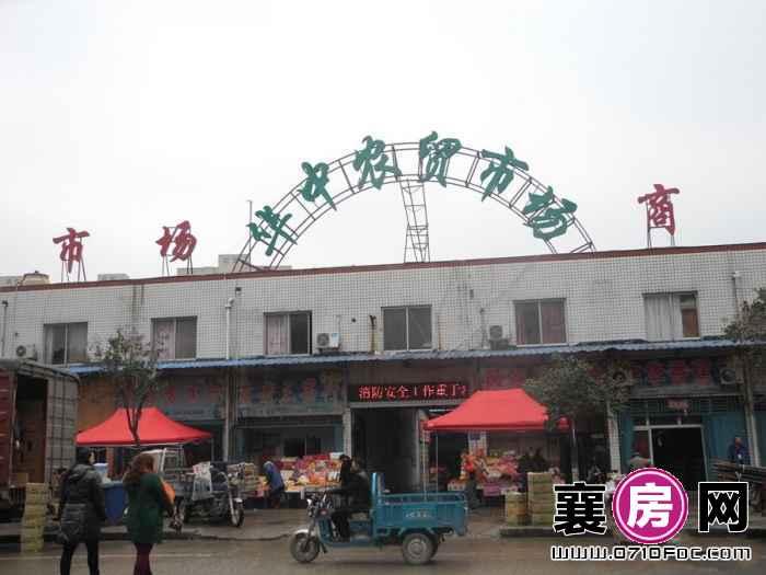 融侨城项目100米内华中农贸市场