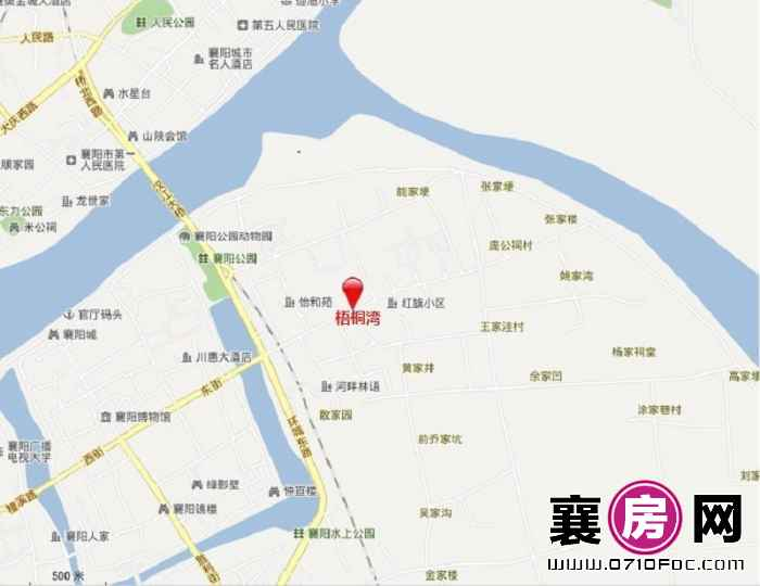 梧桐湾交通图