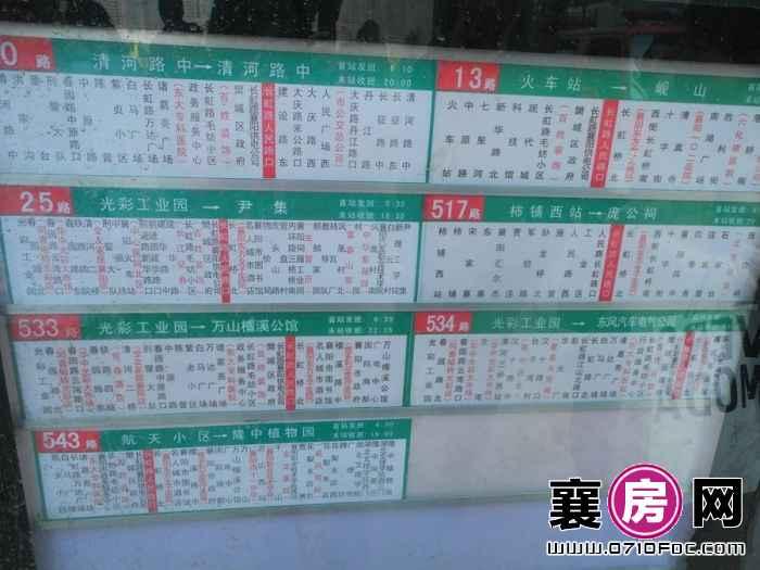 汉水华城公交站 长虹路人民路口