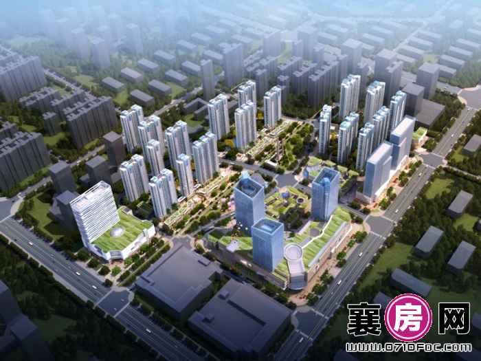 汉水华城鸟瞰图