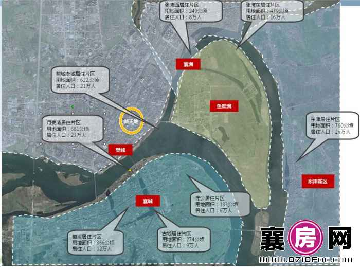 襄阳新天地交通图