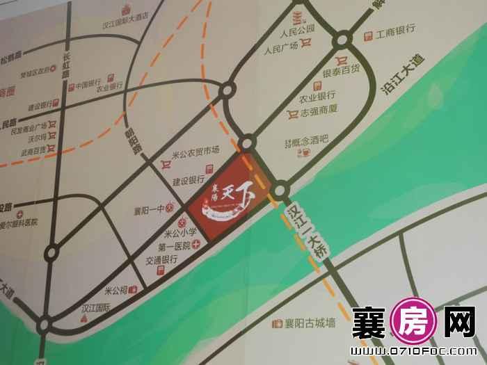 襄阳天下交通图