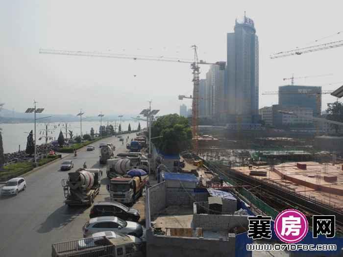华凯·襄阳天下项目工地鸟瞰(2015-9-16)