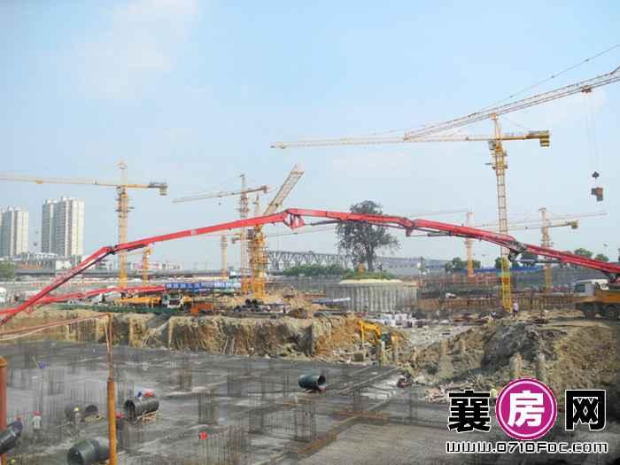 华凯·襄阳天下做地下停车场(2015-9-16)