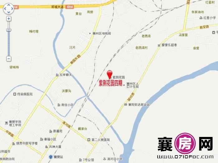 紫荆花园四期区位地图