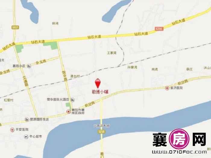 森德润·歌德小镇交通图