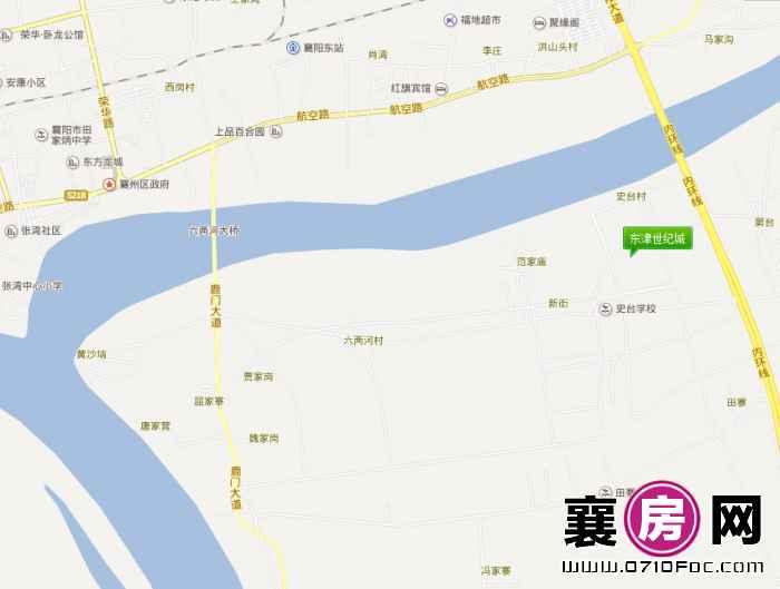 东津世纪城区位地图