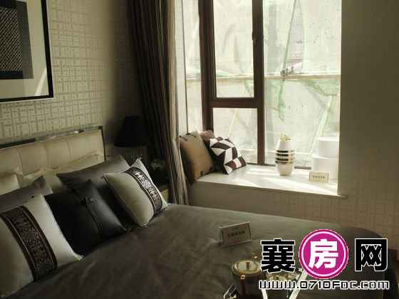 东津世纪城C2户型样板间卧室(2014-3-15)