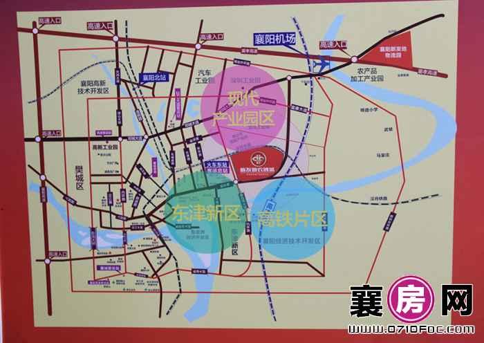 北京新发地襄阳农副产品博览园交通图