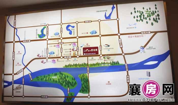 襄阳碧桂园交通图