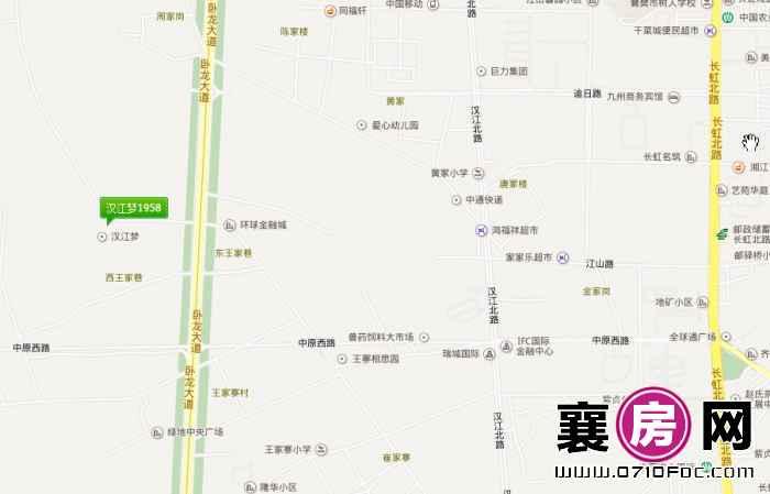 汉江梦区位地图