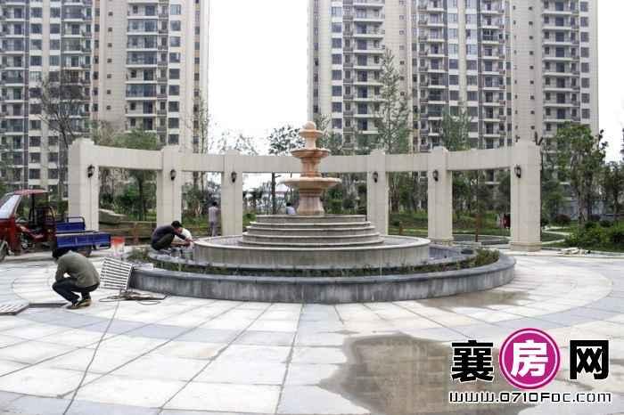 荣华卧龙公馆小区园林实景(2015-6-17)