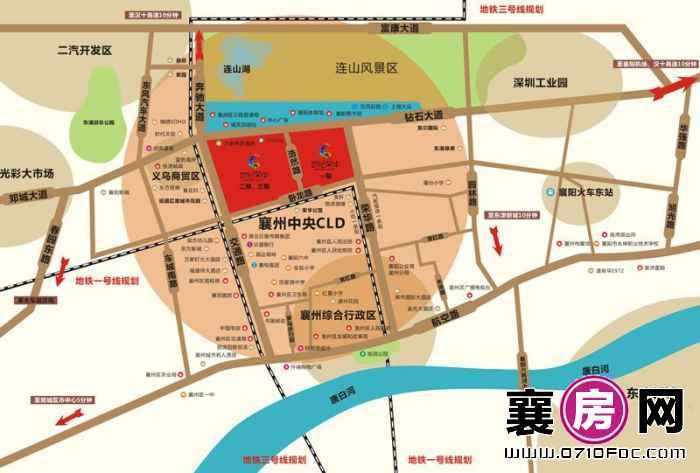 世纪荣华·紫薇苑交通图