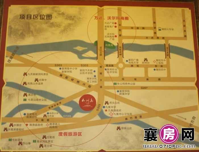九洲岛水岸国际城交通图